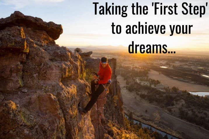 taking-first-step-to-achieve-dreams